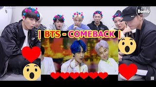 |BTS REACTION TO| Boy With Luv - Music Bank COME BACK