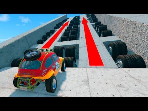 Giant Crush Machines 11 Epic Crash Test  BeamNG Drive CRASHTherapy