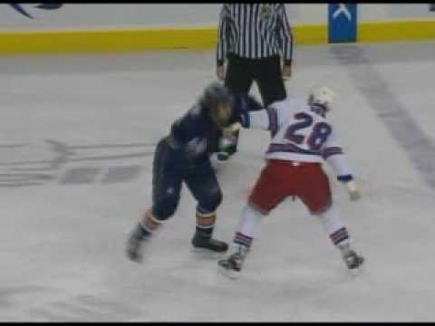 Colton Orr vs Zack Stortini