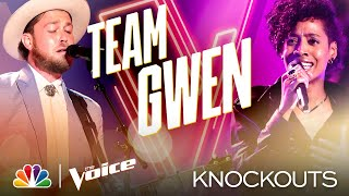 Payge Turner and Ryan Berg Deliver Such Different and Stunning Performances - Voice Knockouts 2020