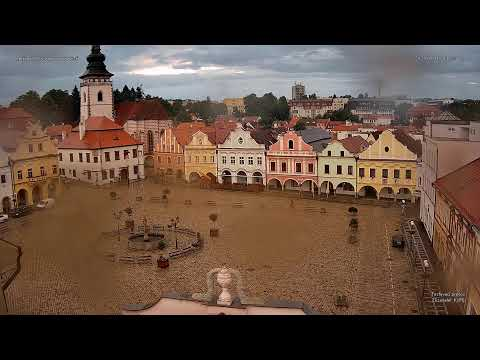 Webkamera online - Pelhřimov - Masarykovo náměstí