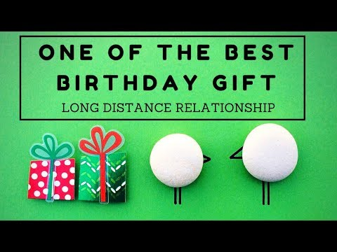 Long Distance Simple Birthday Surprise For Girlfriend