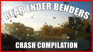 WORST Rear End Crashes - BEST  Compilation - 11 mins +