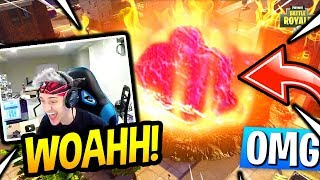 NINJA REACTS TO FIRST *METEOR* CRASHING IN FORTNITE!! Fortnite SAVAGE & FUNNY Moments