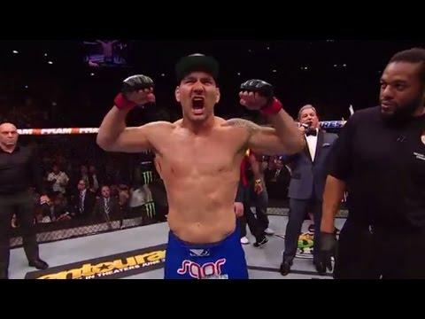 UFC 187: Chris Weidman and Vitor Belfort Octagon Interviews