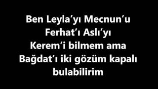 Ayla Çelik Bağdat Karaoke   Sözler Lyrics Ben Dünyanın En Büyük Aşığı Olabilirim