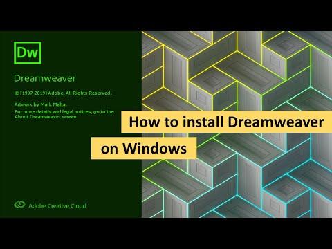 How to Install Dreamweaver on Windows 10