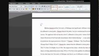 Microsoft Word: Different Headers on Each Page