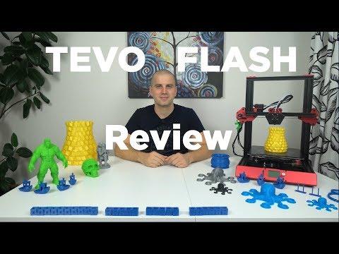 TEVO Flash 3D printer full review
