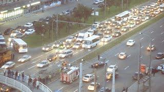 08.06.2015, ДТП на перекрестке пр.Славы и ул.Будапештской