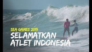 Video Aksi Heroik Peselancar Filipina Selamatkan Atlet Indonesia yang Jatuh di Laut, Rela Lepas Emas