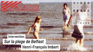 Sur la plage de Belfast, intervention