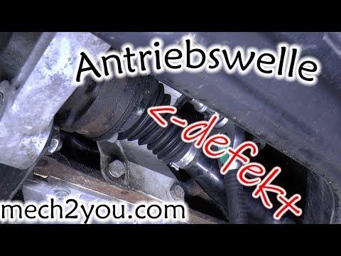 🛠️ Antriebswellengelenk ausbauen und wechseln   Antriebswelle Auto defekt   mech2you SKODA VW SEAT