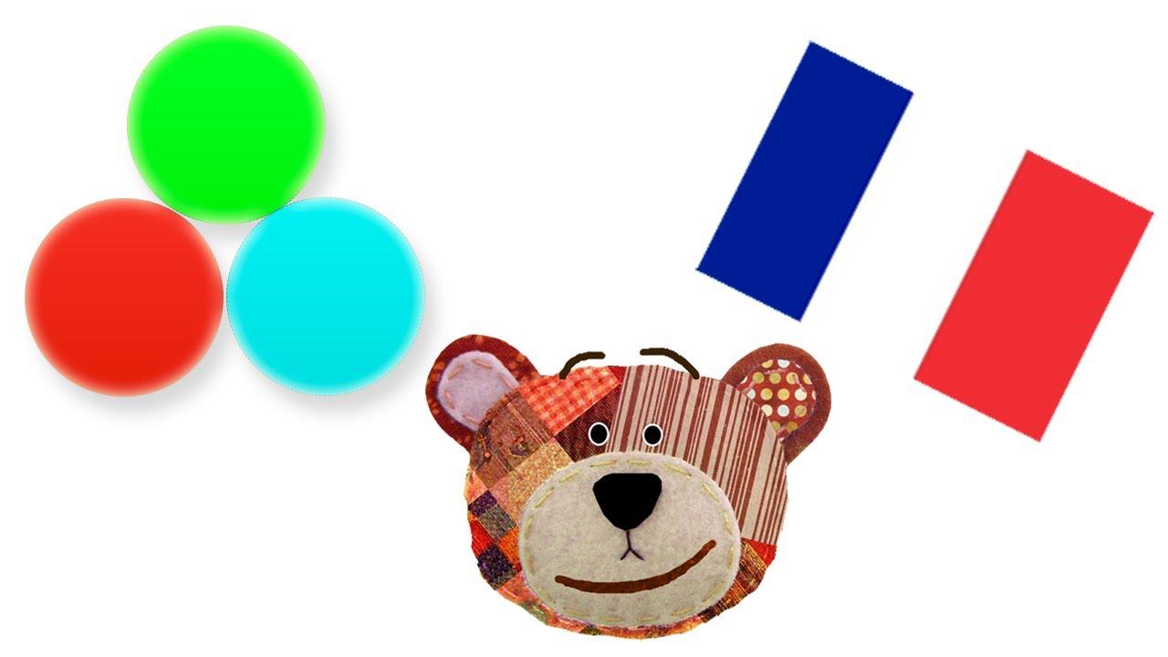 Los colores en francés con Traposo para niños