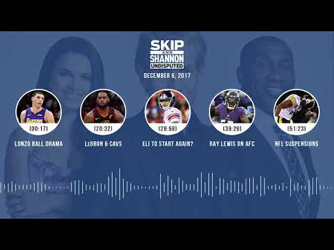 UNDISPUTED Audio Podcast (12.06.17) with Skip Bayless, Shannon Sharpe, Joy Taylor | UNDISPUTED
