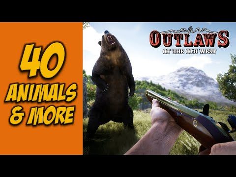 40 Animals, Bandits and more - Outlaws of the Old West