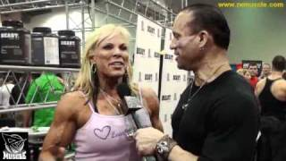 The One and Only Lauren Powers at the 2011 Arnold Expo!