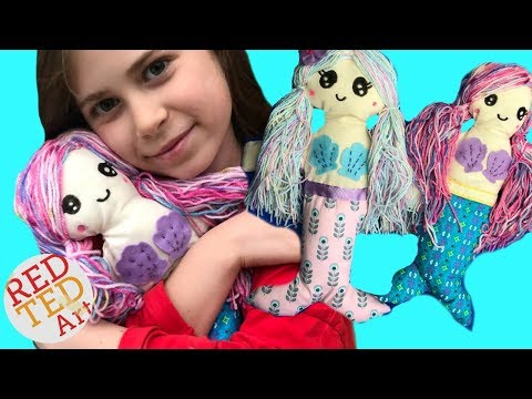 DIY Mermaid Rag Doll Sewing Tutorial - How To Sew A Doll With Kids Mp3
