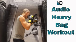 Heavy Bag Punching Bag workout | Audio call outs | Session 2 by NateBowerFitness