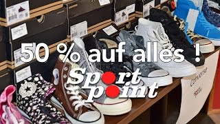Am Freitag – 50% auf alles bei Sport Point in Brilon