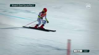 Team USA 2018 Playlist: Mikaela Shiffrin Wins Gold In Giant Slalom
