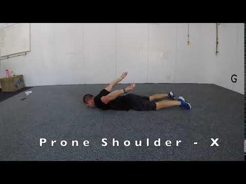 Prone Shoulder - X
