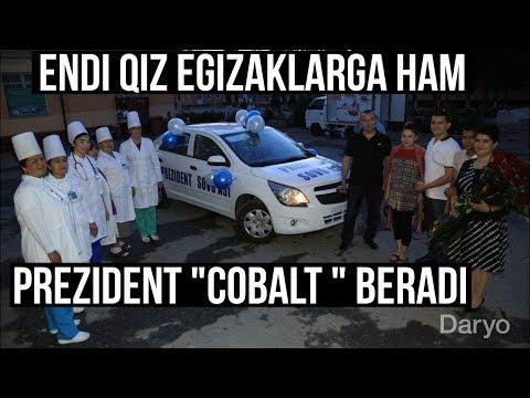 """Endi Qiz Egizaklarga ham """"Cobalt"""" sovg'a qilinadi!"""