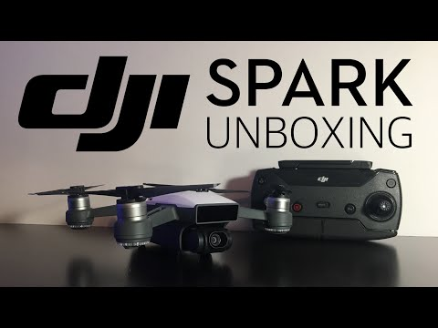 DJI Spark Controller Combo Unboxing
