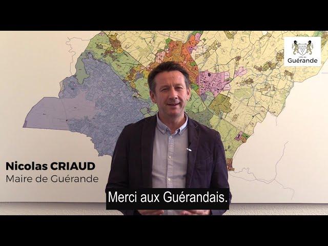 Les mesures de soutien aux Guérandais présentées par Nicolas Criaud