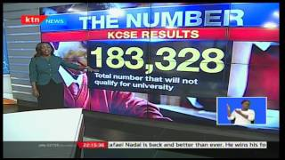 Check Point: Deciphering the released KCSE results what is the number of unqualified students?