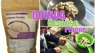 Quinoa Gemüse Pfanne | gesund & lecker | Fitnessplanet24.de | Familybook