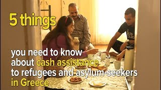 5 things you need to know about cash assistance to refugees and asylum-seekers in Greece