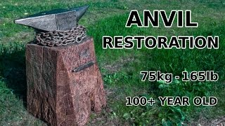 Anvil Restoration (And Rust Remover Recipe)