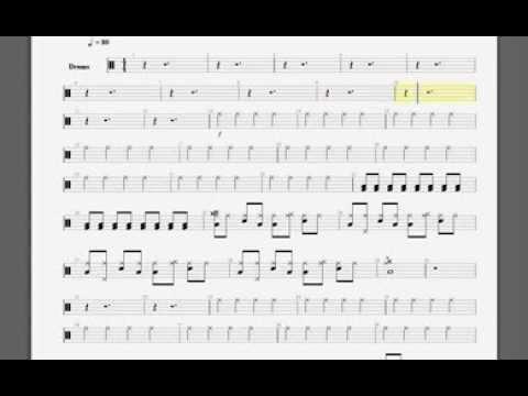 Drum drum tabs white stripes : Music : Austin Drum Lessons Tarun Gudipally Dream On Drum Cover ...