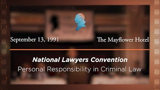 Click to play: Personal Responsibility in Criminal Law [Archive Collection]