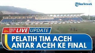 Seusai Antarkan Tim Aceh di Semifinal, Fakhri Husaini Reuni Kecil-kecilan dengan Eks Pemain Timnas