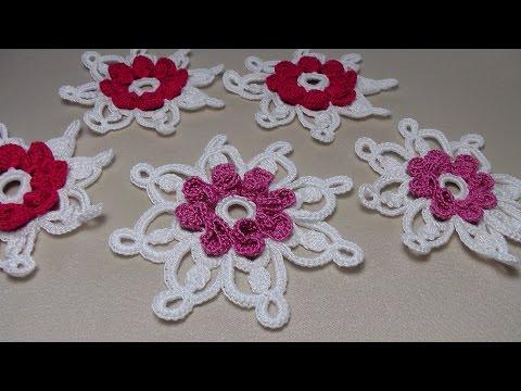 Crochet Dreamcatchers урок вязания крючком цветы вязаные