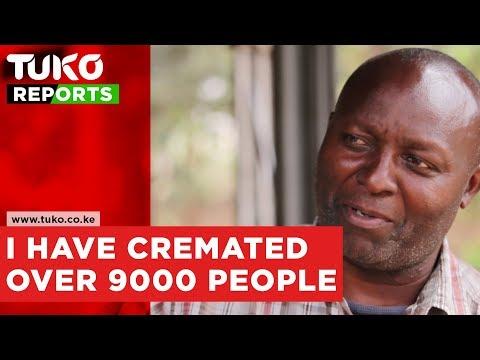I have cremated over 9,000 people-Robert Mwania | Tuko TV