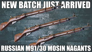 Russian M91/30 Mosin Nagant Rifle - Arsenal Refinished, 7.62x54R, Bolt Action W / Bayonet, Original Dog Collar Sling, and Accessories