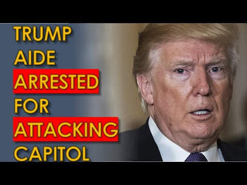 Trump Aide Federico Klein ARRESTED at Capitol RIOT Against Democracy