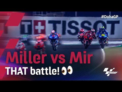 ミラー vs ミルの接触バトル動画 MotoGP 2021 第2戦ドーハGP