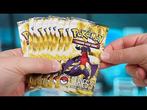 Opening 10 Pokemon Pop Series 9 Booster Packs (2009)