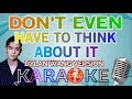 KARAOKE DON 39 T EVEN HAVE TO THINK ABOUT IT METEOR GARDEN OST DYLAN WANG