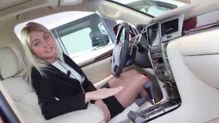 Обзор автомобиля Lexus LX 570