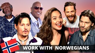 Hollywood Stars On What Working With Norwegians Is Really Like ... (Funny)