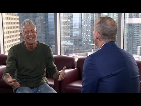 A man of many appetites: Anthony Bourdain feature interview