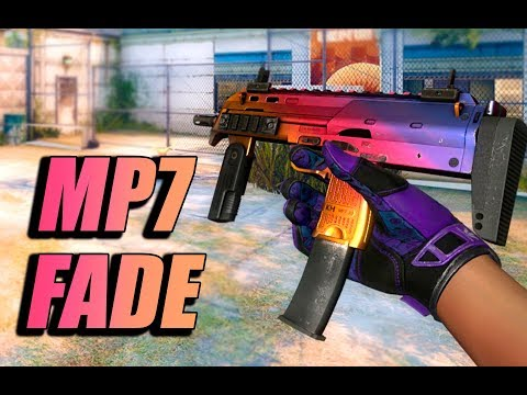 CS:GO SKINS - MP7 | Fade Gameplay [The 2018 Inferno Collection]