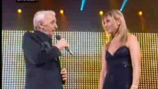 Charles & Katia Aznavour - Je Voyage (lyrics included)
