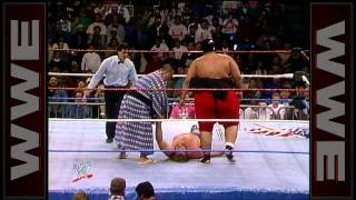 "WWE Hall of Fame: Yokozuna destroys ""Hacksaw"" Jim Duggan"