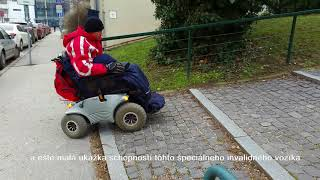 Elektrický invalidní vozík Optimus 2 2.322